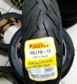 Lốp xe máy Pirelli 110/70-12 Diablo Rosso Scooter cho Vespa Sprint, Primavera
