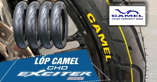 Thay lốp Camel cho Exciter 155 có tốt không? Giá bao nhiêu?
