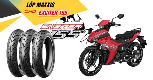 Thay lốp Maxxis cho Exciter 155 có tốt không? Giá bao nhiêu?